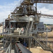 Modification fine sand recovery, plant Stolzenau